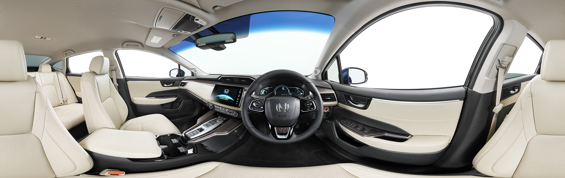 HONDA CLARITY Interior Panorama VR